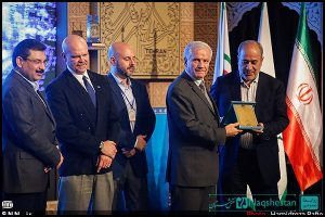 تجلیل از برگزیدگان سومین جایزه جهانی خشت طلایی