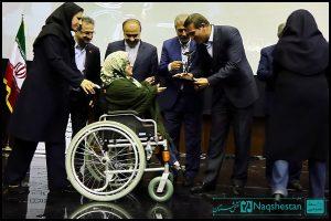 تقدیر از قهرمان پارالمپیک در روز جهانی معلولین